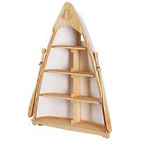 Tủ kệ đứng mô hình thuyền Boat & Book