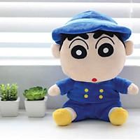 Gấu bông Cậu bé bút chì Crayon Shin Chan 30cm mặc đồng phục thủy thủ