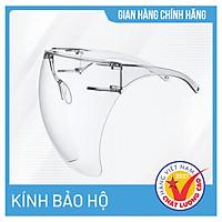 Kính bảo hộ cao cấp Asia Face Shield - Phòng chống dịch, chống khói bụi, chống đọng hơi thở, bảo vệ mắt