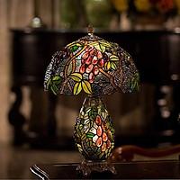 Đèn bàn trang trí Tiffany chao chùm nho 30x50cm