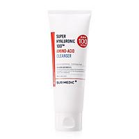 Sữa Rửa Mặt Dưỡng Trắng Cấp Ẩm Sur.Medic+ Super Hyaluronic 100 Amino-Acid Cleanser 100ml