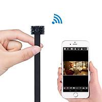 Camera IP Wifi FullHD 4K hồng ngoại 6 LED đen quay đêm sắc nét theo dõi trực tiếp từ xa qua điện thoại - Camera 6 led đen hồng ngoại thông minh