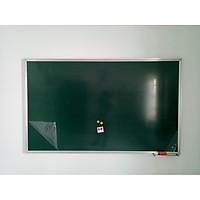 Bảng từ xanh Hàn Quốc treo tường, viết phấn có dòng kẻ 5x5cm-Kích thước 0.8m*1.2m
