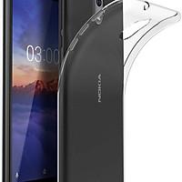 Bộ 2 ốp lưng silicon trong suốt cho Nokia 3.1