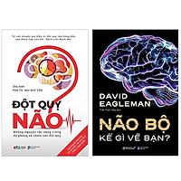 Combo Sách : Đột Quỵ Não – Những Nguyên Tắc Vàng Trong Dự Phòng Và Chăm Sóc Đột Quỵ + Não Bộ Kể Gì Về Bạn?