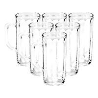 Bộ ly 6 cái Union Glass 367 Ly quai  375 ml  không ngã màu,  sản xuất Thái Lan
