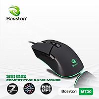 Chuột Bosston M730 LED Gaming - màu ngẫu nhiên - hàng nhập khẩu