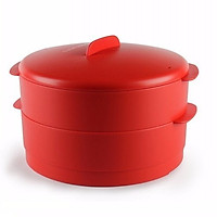 Xửng hấp Tupperware Steam It 20 cm (tặng 2 hộp Small Square Round)