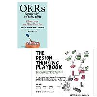 Combo 2 cuốn: OKRS - Nguyên Lý Và Thực Tiễn + The Design Thinking Playbook- Thực Hành Tư Duy Thiết Kế