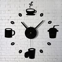 Đồng hồ trang trí treo tường cafe - gắn tường sáng tạo loại nhỏ 2D-03
