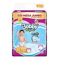 Tã Quần Bobby Gói Mega Jumbo XL102 (102 Miếng)