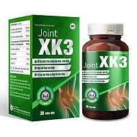 Thực phẩm bảo vệ sức khỏe Joint XK3 giúp giảm đau xương khớp, hỗ trợ đẩy lùi bệnh khớp ( lọ 30 viên )