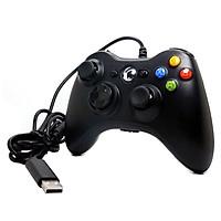 Tay Bấm Game Xb 360 Có Rung - Chân USB Cho Laptop PC