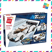 Bộ Đồ Chơi Xếp Hình Thông Minh Lego Qman 42102 Xe Ô Tô Đua Biến Đổi 3 Mô Hình 428 Mảnh Ghép Cho Trẻ Từ 6 Tuổi