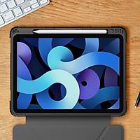 Bao da cho iPad Air 10..9 2020 ,iPad Air 4 Nillkin chống sốc, có khay để bút- Hàng chính hãng.