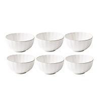 Bộ 6 bát cơm - Cotton - Erato - Hàng nhập khẩu Hàn Quốc - Cotton rice bowl