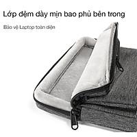 Túi Đeo TomToc (USA) 360* Shoulder Bags MacBook Pro 13'' New/ MacBook Air13'' 2019 Gray- A42-C02G chính hãng