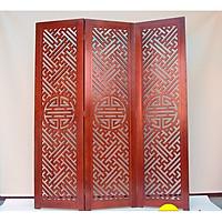 Vách ngăn bình phong cổ điển (giá cho 1 tấm ngang 60cm) hình là 3 tấm ghép 180cm