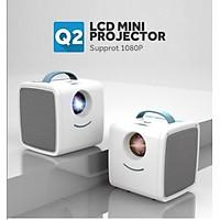 Máy chiếu mini Q2 LCD PROJECTOR hỗ trợ giảng dạy giải trí độ phân giải 1080P