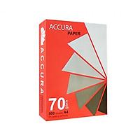 Thùng 5 ram giấy trắng in photocopy A4 Acura 70gsm