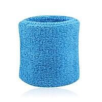 2PCS Wristband Sport Sweatband Hand Hand Sweat Wrist Support Brace Wraps Guards Gym Volleyball Basketball Tennis Multi-color