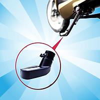 Bọc chân chống xe máy lót chân chống xe máy cao su chống trầy nền nhà, gỉ sét