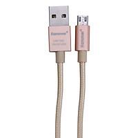Cáp Sạc Micro USB Hammer 2.4A - Hàng Chính Hãng