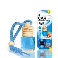 Tinh dầu treo ô tô Aroma Car Wood 6ml - Ocean (hương biển)