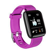 Đồng hồ thông minh Smartwatch I116 Plus chống nước tích hợp cảm biến đo nhịp tim, đếm bước chân - Hàng nhập khẩu