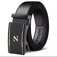 Dây nịt nam cao cấp, thắt lưng nam khóa tự động dây da bền đẹp Phong cách Hàn Quốc ENG13