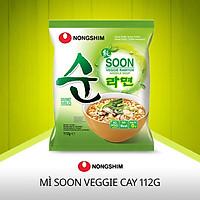 Mì Chay Nongshim Soon Veggie Ramyun 112g - Hàn Quốc