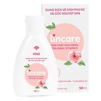 Dung dịch vệ sinh phụ nữ và cốc nguyệt san Lincare Rose
