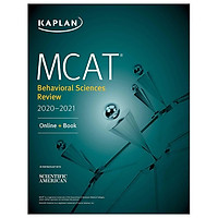 MCAT Behavioral Sciences Review 2020-2021: Online + Book (Kaplan Test Prep)