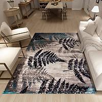 Thảm Trang Trí Phòng Khách Và Sofa Lông Ngắn LA010 - Land