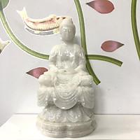 Tượng đá trang trí Phật thích ca - Cao 20cm - Đá non nước