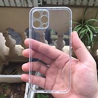 Ốp lưng silicon Gor cho Apple iPhone 12 Pro 6.1 inch siêu mỏng, có gờ bảo vệ camera- Hàng nhập khẩu