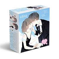 Hộp quà Con tim rung động anime gồm nhiều món đồ độc đáo