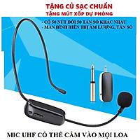 Micro không dây  trợ giảng cho giáo viên, cắm loa kéo, âm ly