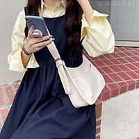 Túi đeo chéo nữ cute đi học đi chơi túi xách nữ đeo chéo công sở đẹp thời trang cao cấp da trơn phong cách Hàn Quốc