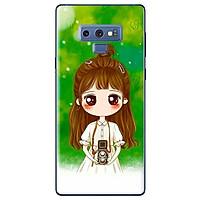 Ốp Lưng Dành Cho Samsung Galaxy Note 9 - Anime Cô Gái Búi Tóc