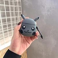 Case Silicon cho Airpods 1/2  - Hình Pikachu