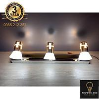 Đèn soi tranh, rọi gương Led 3 chiếu sáng 120-3 24w Thuỷ Tinh - Điều chỉnh được góc chiếu Trang Trí Gương, Tranh Đèn Sang Trọng Hiện Đại