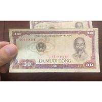 Tờ 30 đồng Việt Nam huyền thoại thời bao cấp 1981