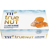 Thùng Sữa Hạt Và Nghệ TH True Milk NUT (48 hộp x 180ml)