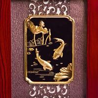 Tranh dát vàng 24K - Niên Niên Hữu Dư - ANCARAT
