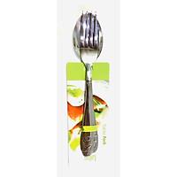 Bộ muỗng nĩa hoạ tiết hoa sen Z08 ( 5 bộ)