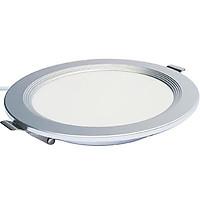 Đèn LED âm trần siêu mỏng Kosoom 8W viền bạc DL-KS-SMB-8