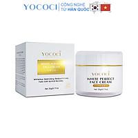 Kem dưỡng trắng da mặt Yococi giúp sáng da, ngăn chặn ánh sáng xanh White Perfect Face Cream 20g