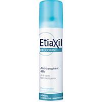 Xịt Khử Mùi Hàng Ngày Etiaxil Déodorant Anti-Transpirant 48h Anti-Traces Blanches & Jaunes 150ml (Dạng Xịt Phun Sương)