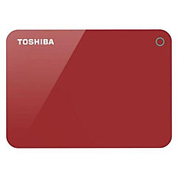 Ổ cứng di động Toshiba Canvio Advance 1Tb USB3.0 Đỏ Chính hãng